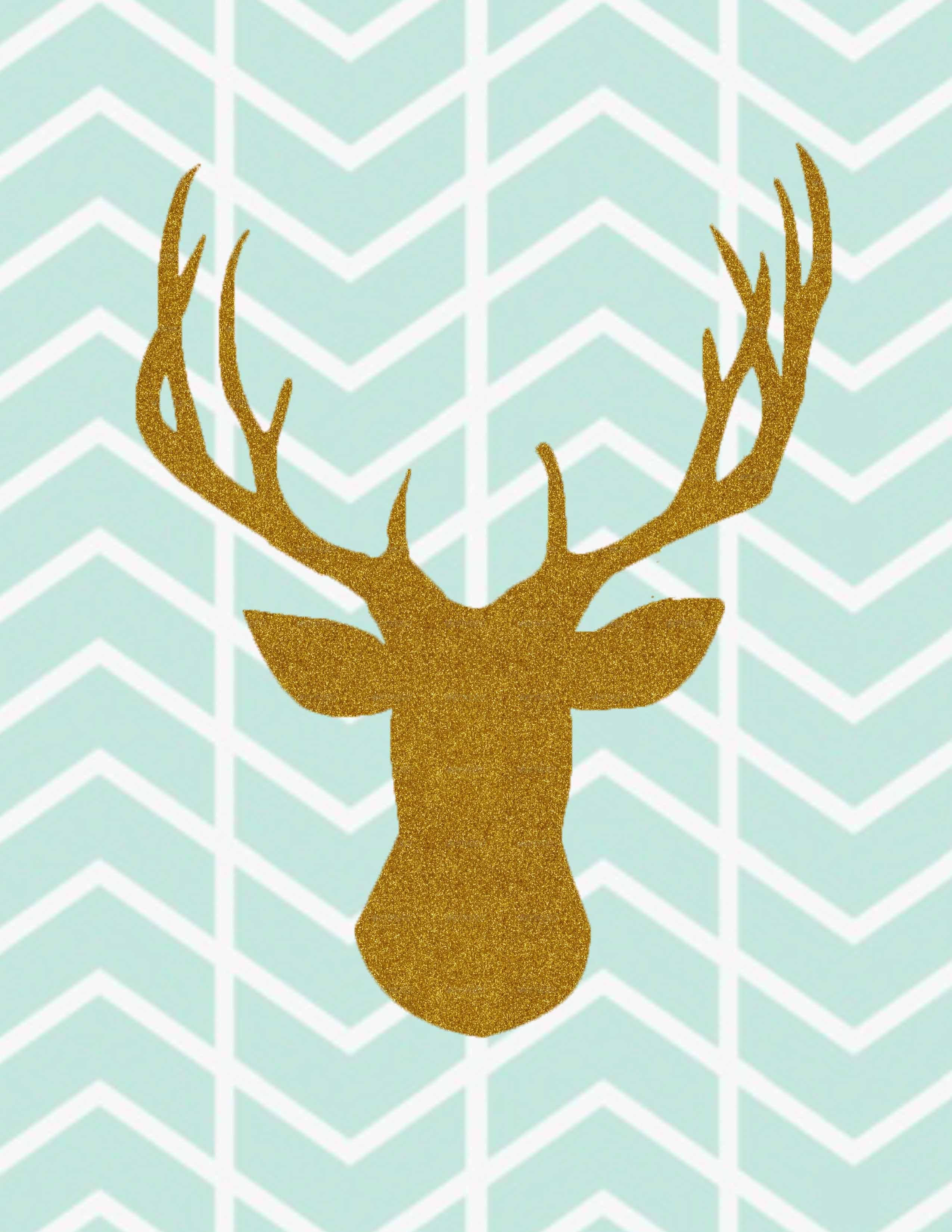 deer herringbone