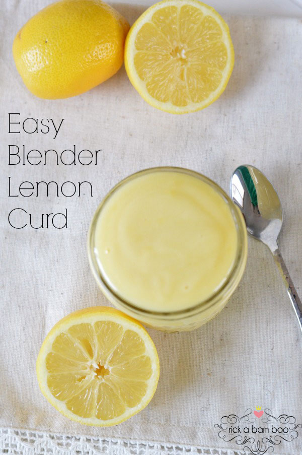 Easy Blender Lemon Curd