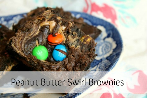 peanut butter swirl brownies from restless chipotle... restlesschipotle.com