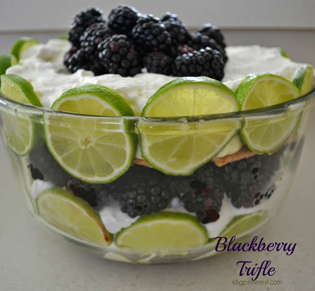 Blackberry-Trifle