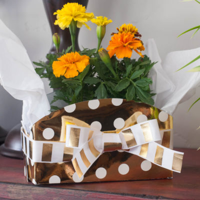 DIY Gift Box with Heidi Swapp Minc Foil Applicator