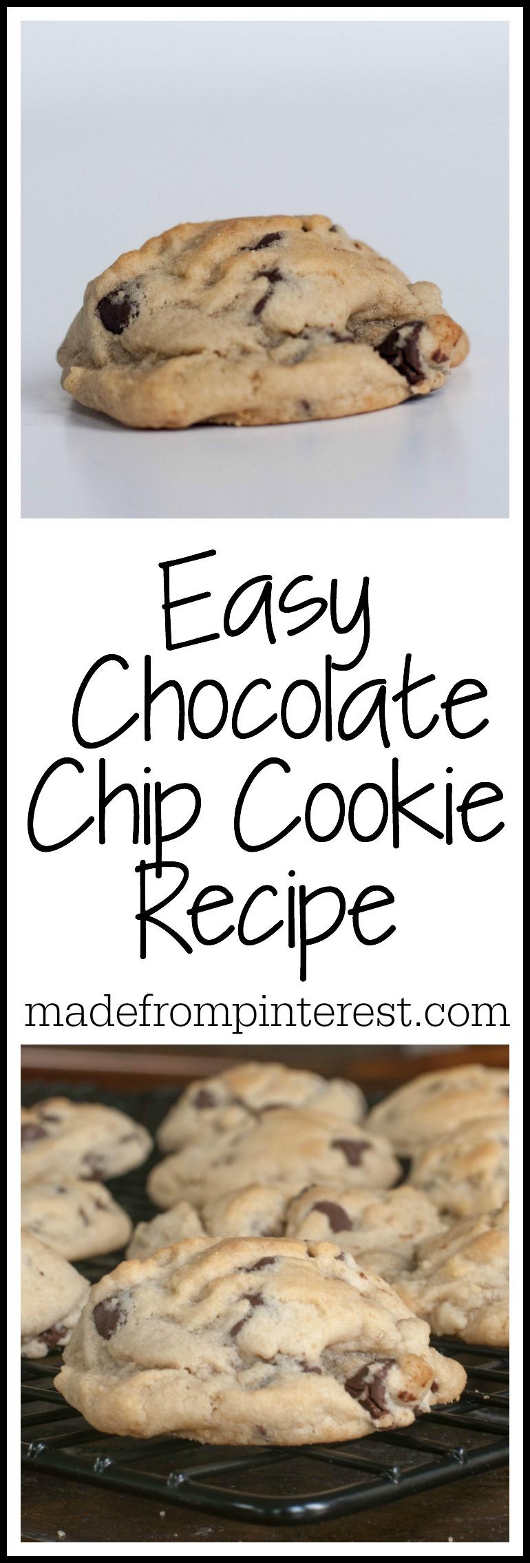 Easy Chocolate Chip Cookies Tgif This Grandma Is Fun