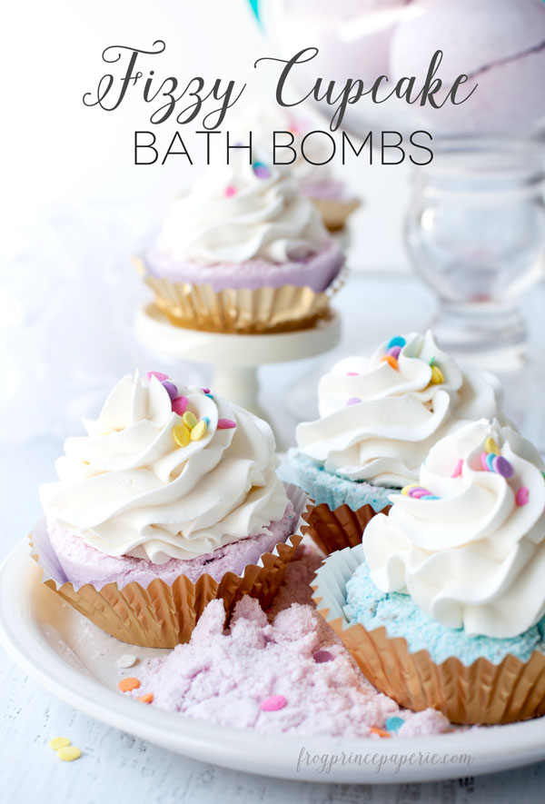 Fizzy Cupcake Bath Bombs - Made From Pinterest