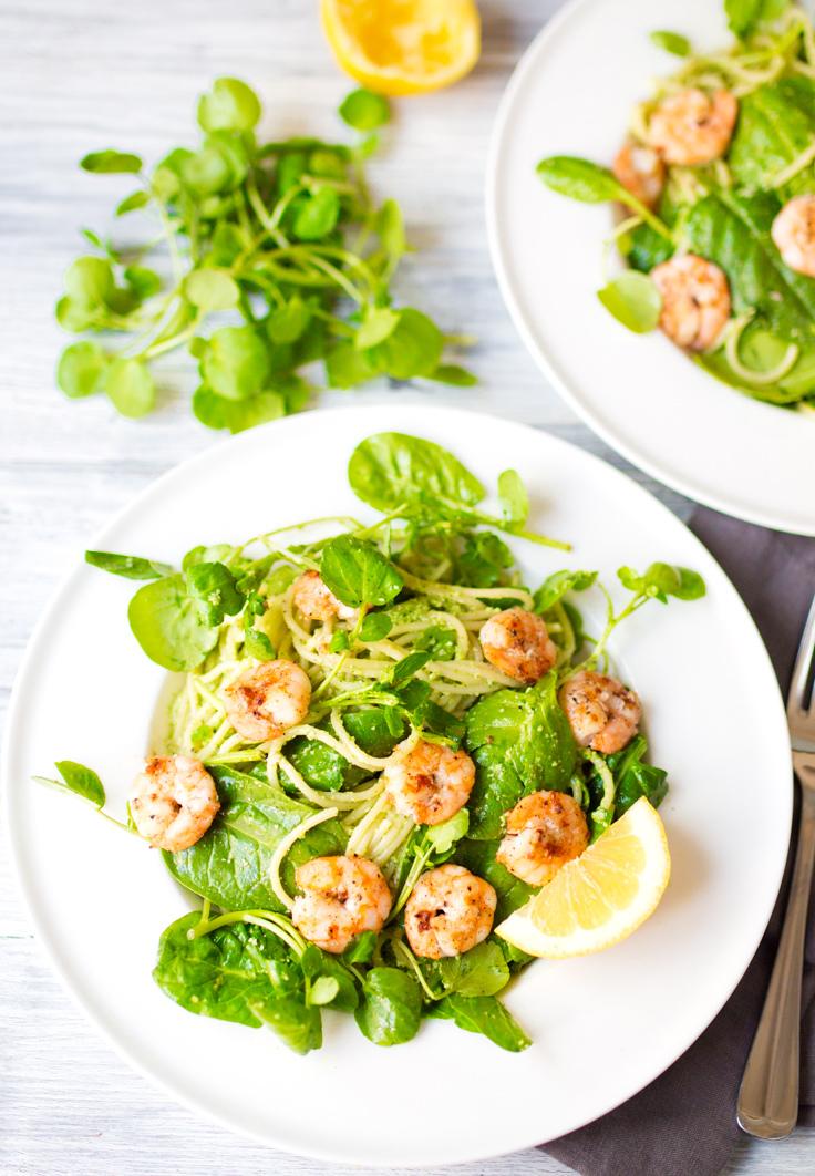 Garlic-Shrimp-Pasta