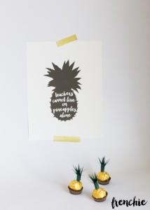 Pineapple Teacher Appreciation gift.
