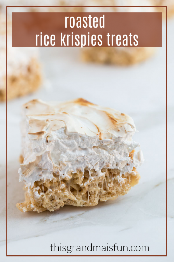 Roasted Rice Krispies Treat