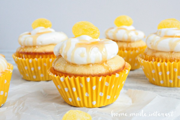 Honey-Lemon-Cupcakes