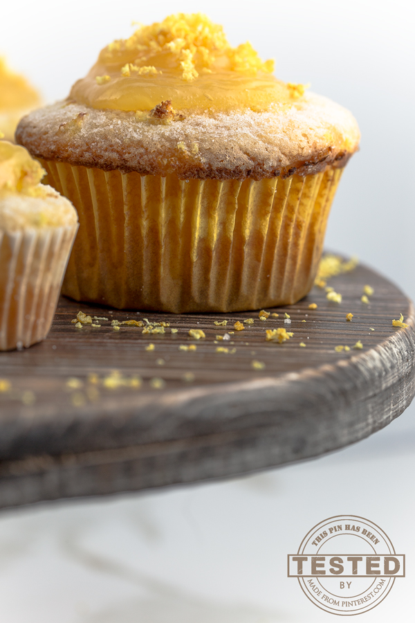 These lemon curd muffins are light, fluffy and unbelievably moist.They are quick and easy to make because you use  a box of King Arthur Gluten Free Muffin Mix and a jar of store bought lemon curd.  Warning, they are addicting!