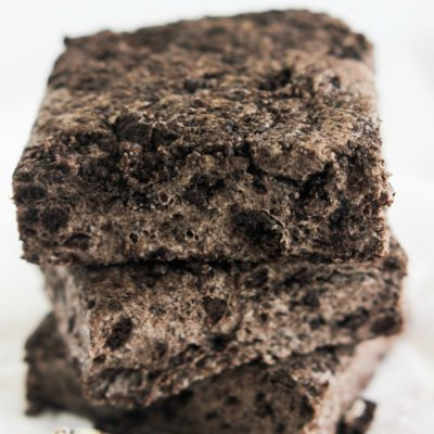 No Bake Chewy Cookies and Cream Bars