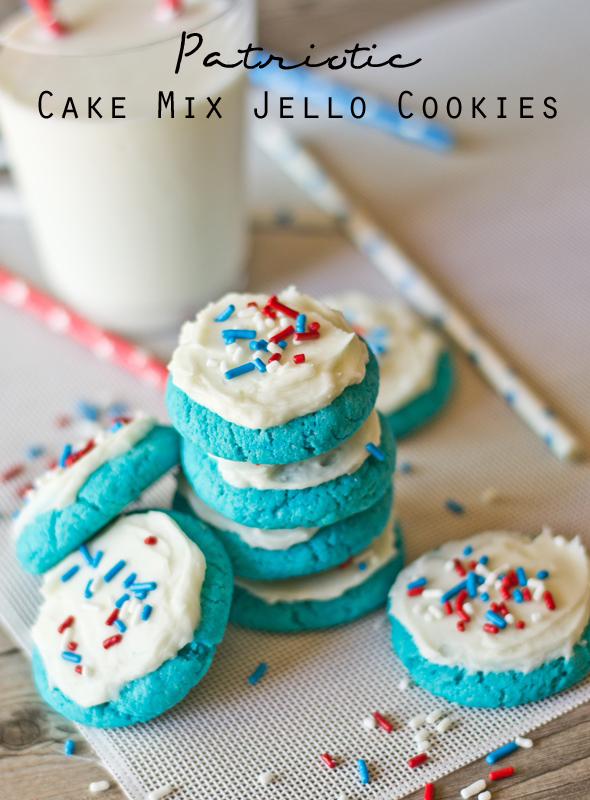 Boxed Cake Mix Cookies In A Jar
