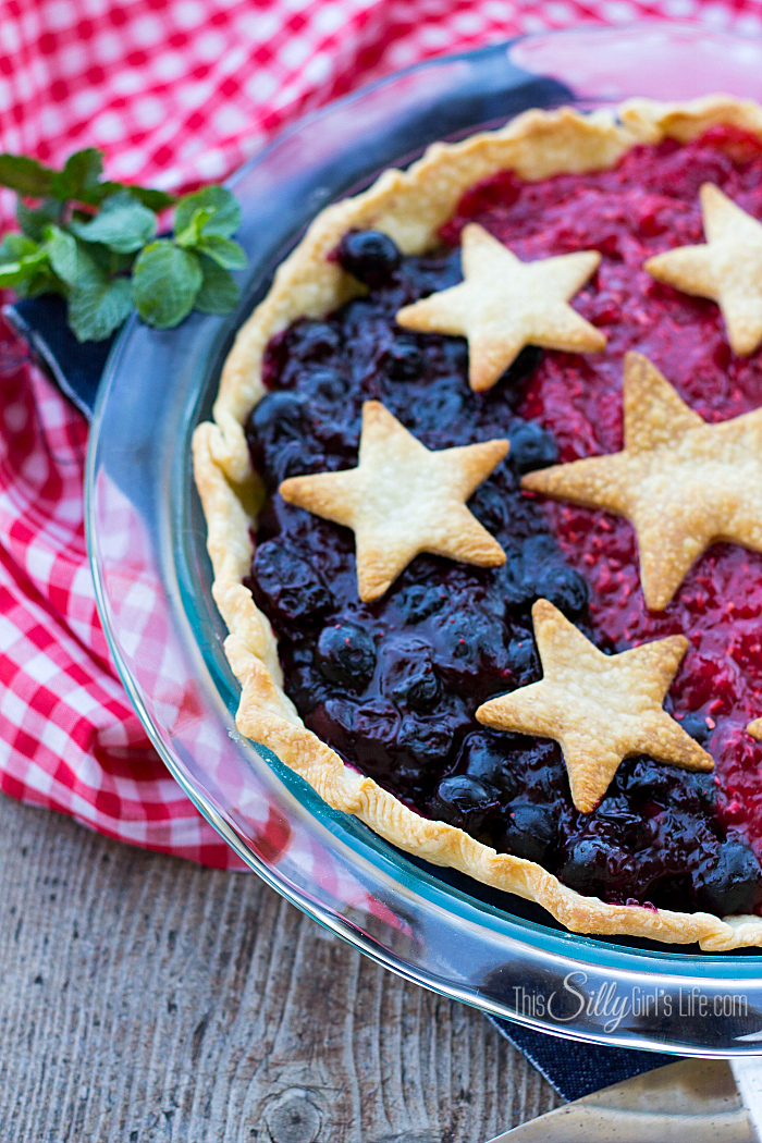Patriotic-Mixed-Berry-Pie