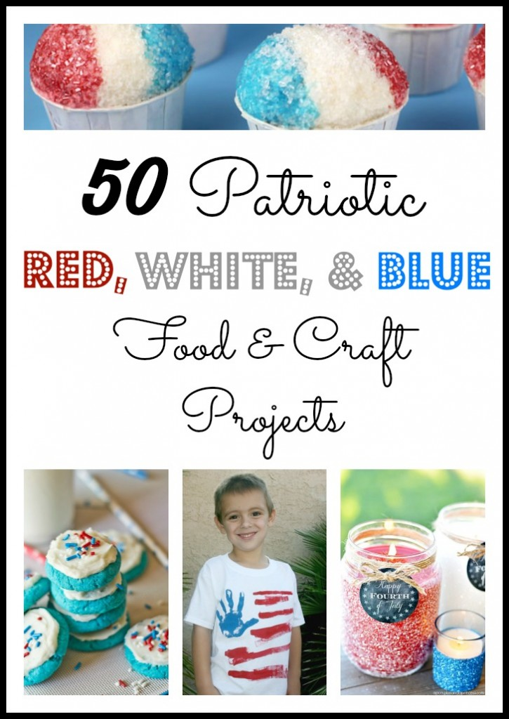 Looking for something that pops red, white and blue for the upcoming patriotic holiday?  Then you will want to check these out!