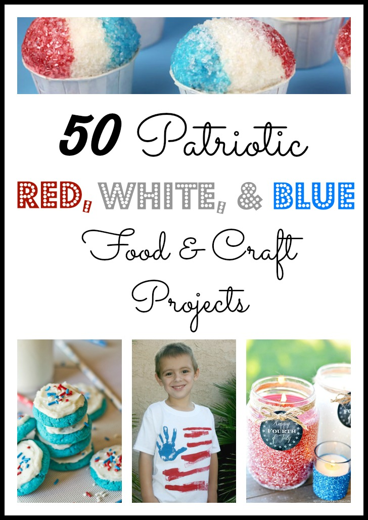 red day craft ideas 50 patriotic white and blue food and craft projects 5322