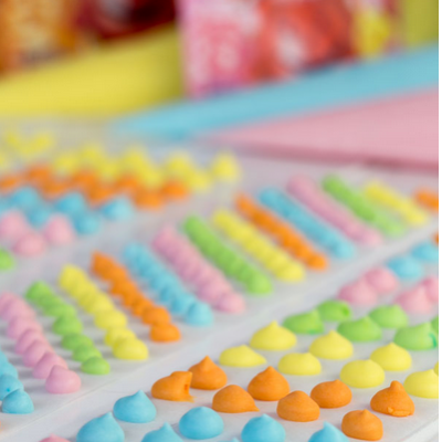 Candy Dots with Kool-Aid