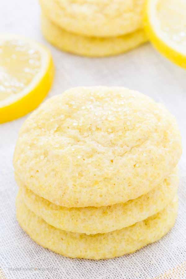 These Sugar Crusted Lemon Cookies were a family favorite growing up! Glad to find the recipe again.