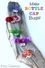 Super easy and adorable craft project for kids!