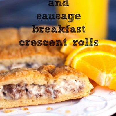 Cream Cheese and Sausage Breakfast Crescent Roll Recipe