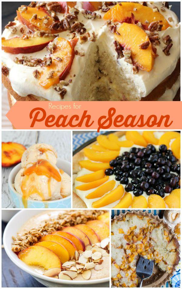 Recipes-for-Peach-Season
