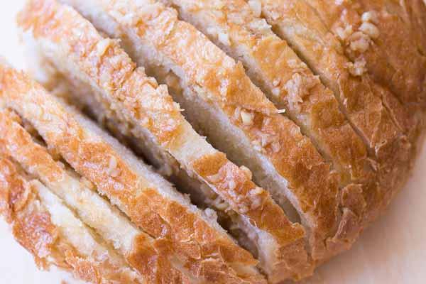 Roasted Garlic Bread - TGIF - This Grandma is Fun