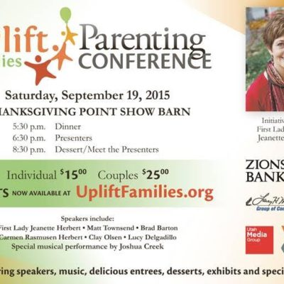 Utah UpLift Families Parenting Conference