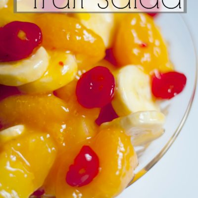 Creamy Fruit Salad Recipe