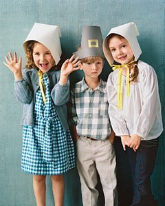 These hats and bonnets are easy and perfect for dress-up.