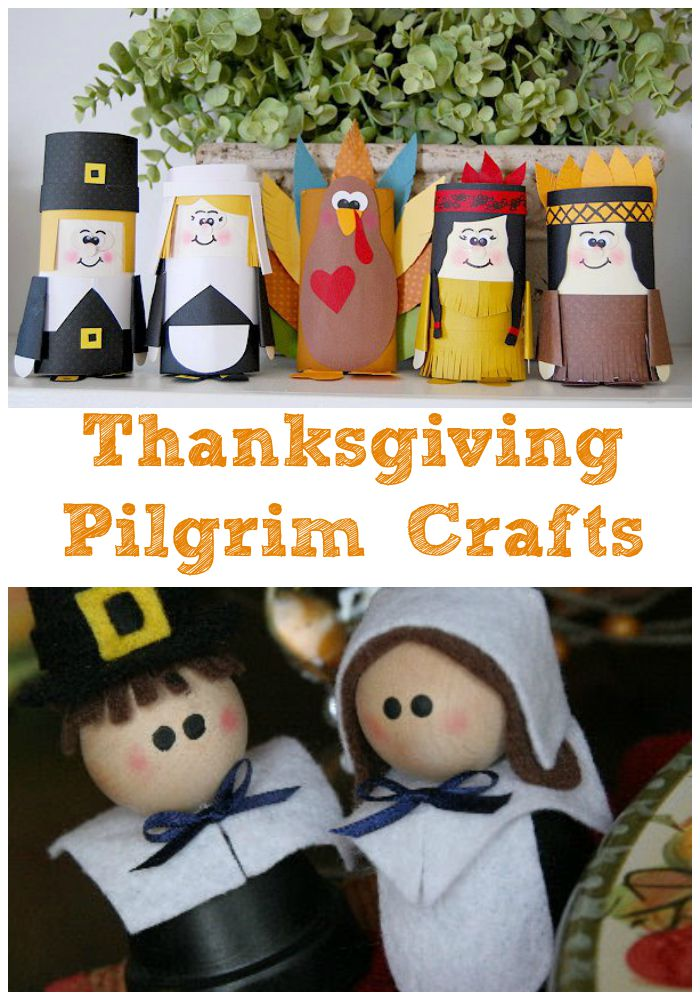These Thanksgiving Pilgrim Crafts are sure to keep your kids busy and you happy during Thanksgiving week. They are also a great way to learn about the Pilgrim Story!