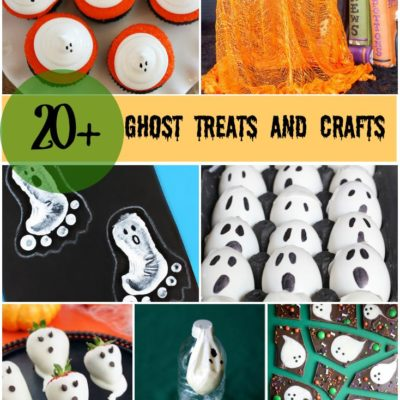 20+ Easy Ghost Crafts and Treats