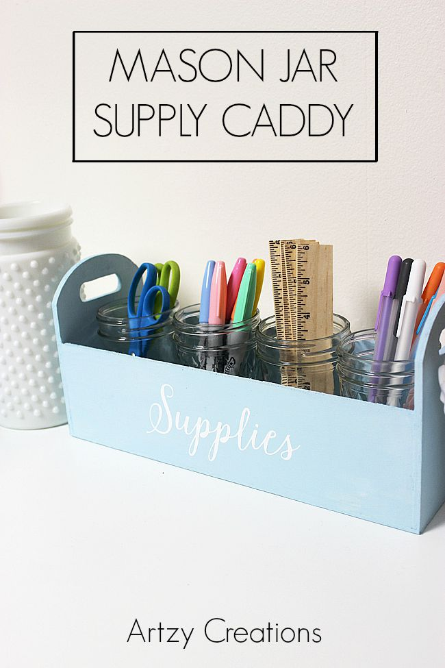 Mason-Jar-Supply-Caddy