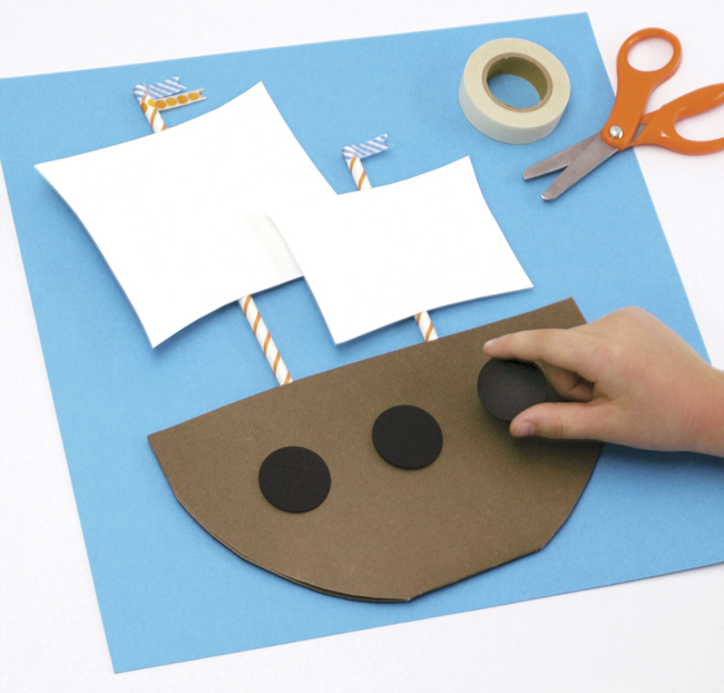 Make a Mayflower will get the kids into the Holiday Spirit when paired with the Pilgrim Story.