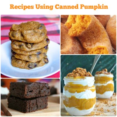 Recipes Using Canned Pumpkin