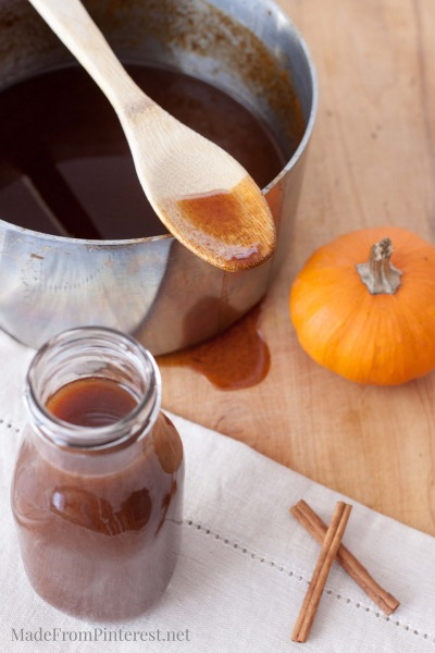 Perfect for days you don't want to make pumpkin pancakes, Just add this on top of normal ones.