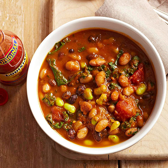Calico Bean Soup doesn't come up short in flavor.