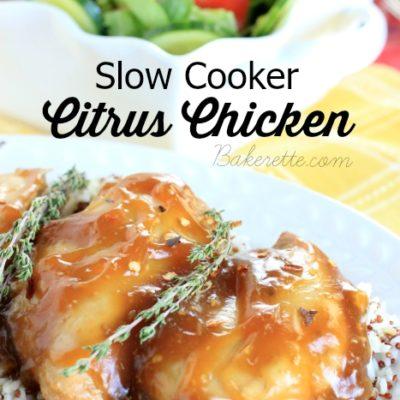 Slow Cooker Citrus Chicken