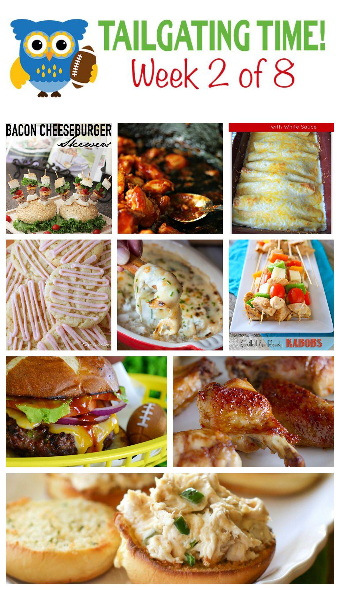 Tailgating Food Ideas Week 2   Made From Pinterest PEXHVaJA