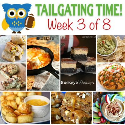 Tailgating Food Ideas Week 3