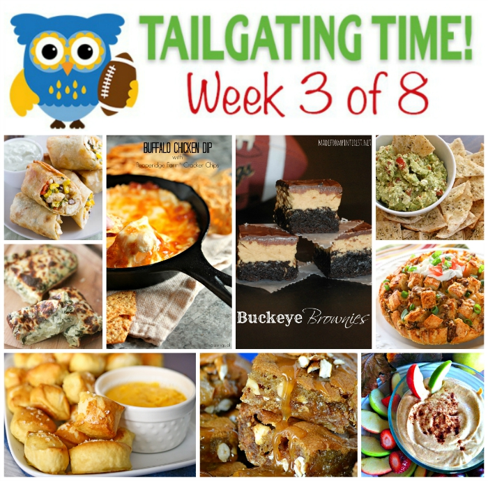 The third week in an eight week series of some great food for your football games from nine great bloggers!