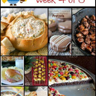 Tailgating Food Ideas Week 4