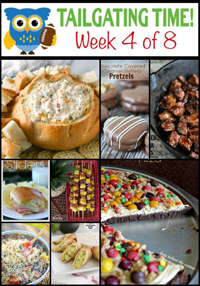 Week four of the Ultimate Tailgating Series from nine great bloggers! You won't want to miss Weeks 1-3!