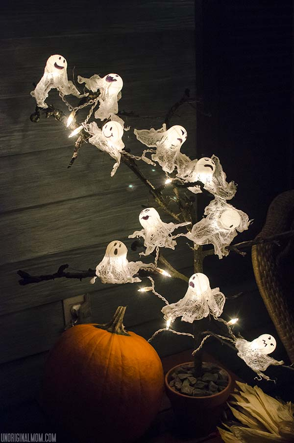 These lights are a perfect way to add a little spook to your home.