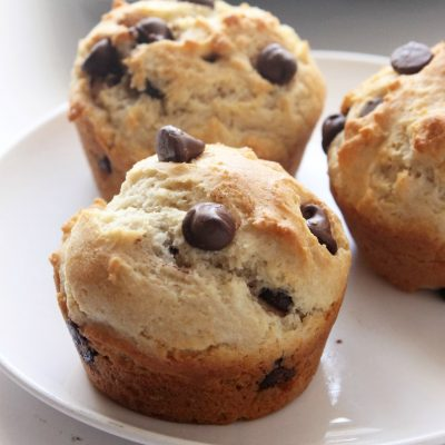 Gluten Free Chocolate Chip Muffins | Natural Chow