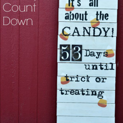Halloween Candy Count Down