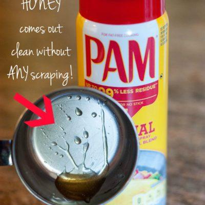 PAM Cooking Spray Kitchen Hacks