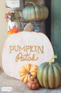 Pumpkin Patch Sign by Atta Girl Says