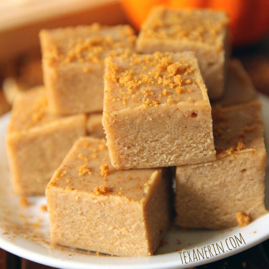 Who doesn't love fudge? Make it pumpkin and I'll take 20!