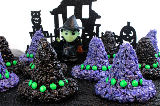 rice-krispie-treats-witch-hats