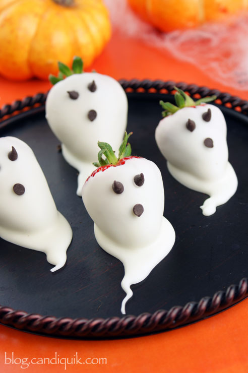 These Strawberry Ghosts are nothing to be afraid of.