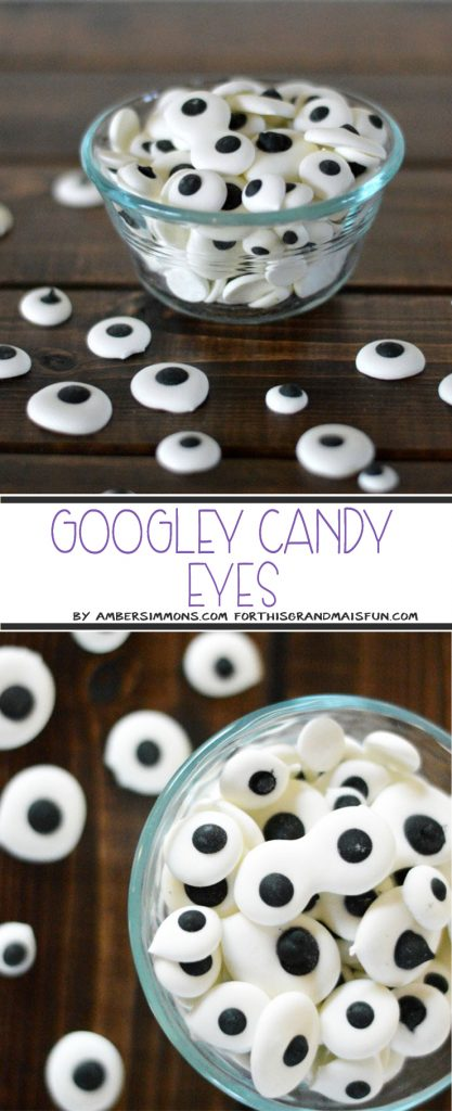 Candy Googley Eyes Recipe - TGIF - This Grandma is Fun