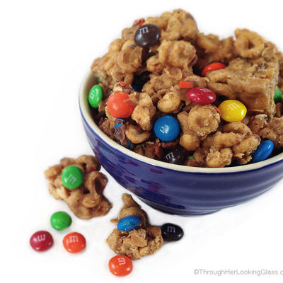 Peanut Butter M&M Protein Clusters