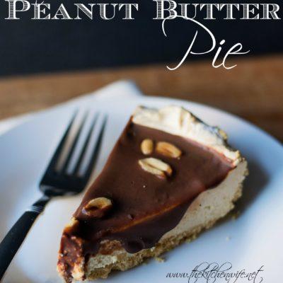 No Bake Peanut Butter Pie